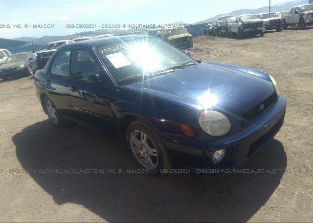 Inventory #563727247 2003 Subaru IMPREZA