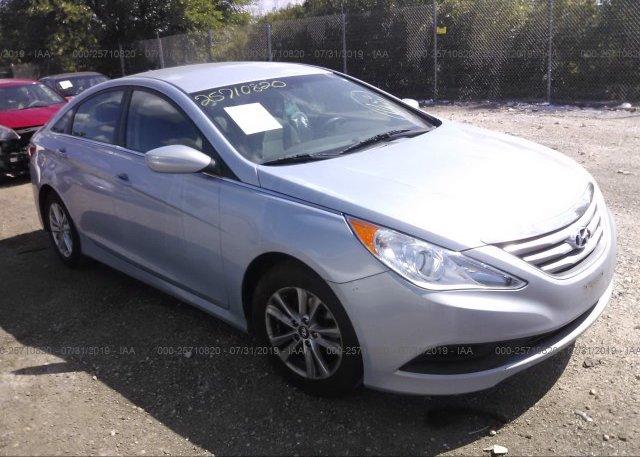 Inventory #847098587 2014 Hyundai SONATA