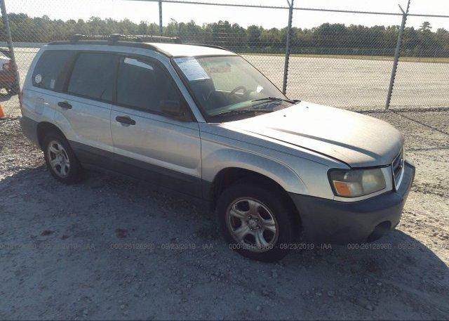 Inventory #582919447 2005 Subaru FORESTER