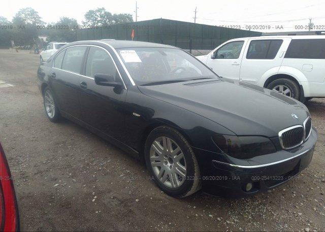 Inventory #521282218 2006 BMW 750