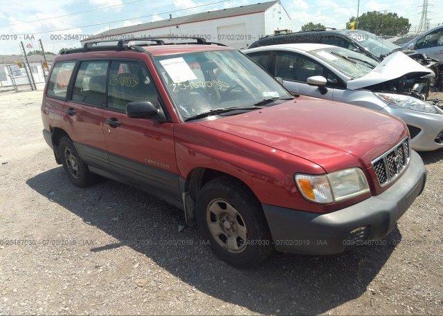 Inventory #940490437 2002 Subaru FORESTER