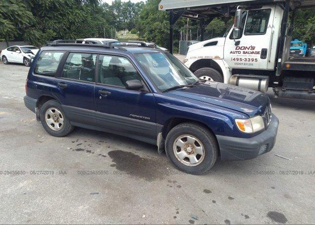Inventory #102321745 2002 Subaru FORESTER