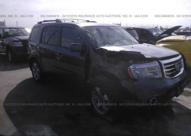Inventory #304389675 2012 Honda PILOT