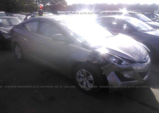 Inventory #380420024 2016 Hyundai ELANTRA