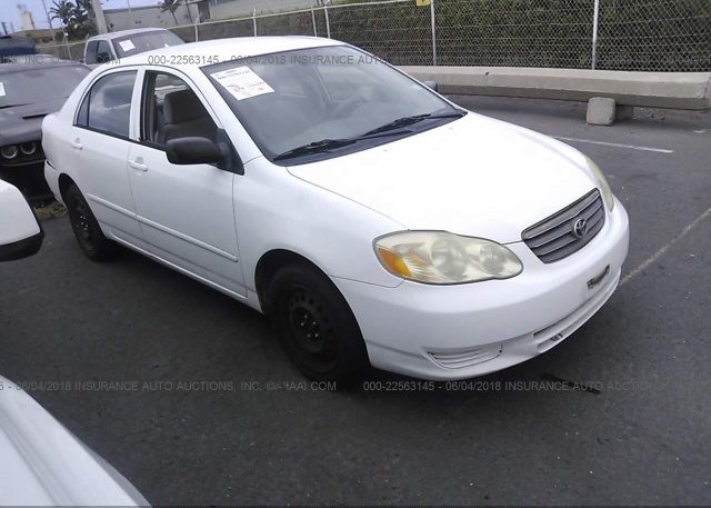 Inventory #677510686 2003 Toyota COROLLA
