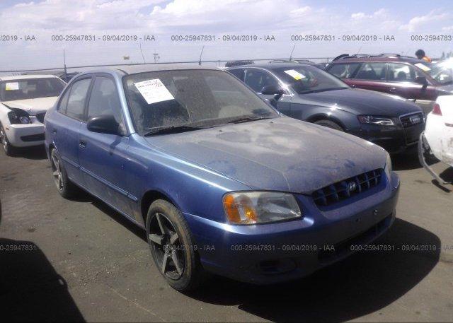 Inventory #735263803 2000 Hyundai ACCENT