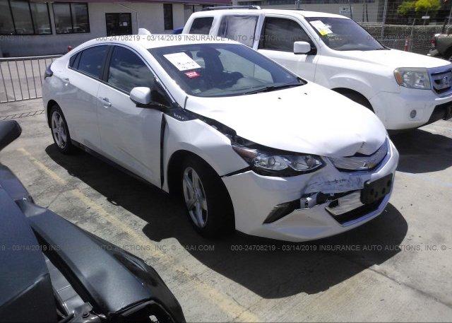 Inventory #889007550 2017 Chevrolet VOLT