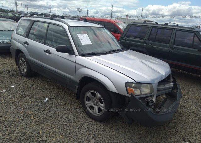 Inventory #887342954 2003 Subaru FORESTER