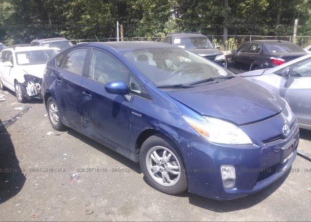 Inventory #386647108 2011 Toyota PRIUS