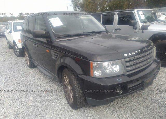 Inventory #249227533 2008 Land Rover RANGE ROVER SPORT