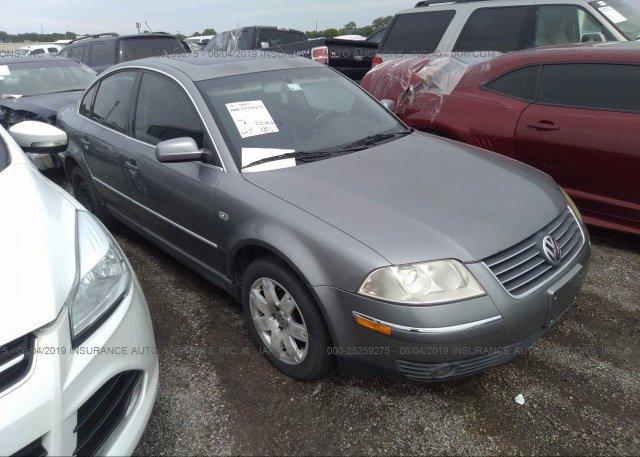 Inventory #606764048 2002 Volkswagen PASSAT