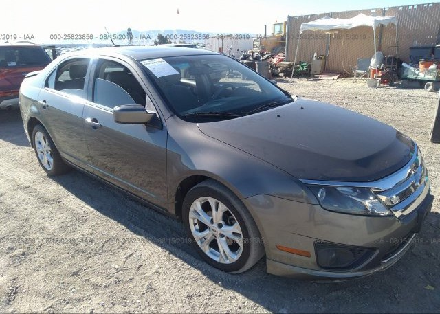 Inventory #335784375 2012 FORD FUSION