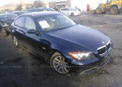 2006 BMW 325 - WBAVB13596KX46423 Left View