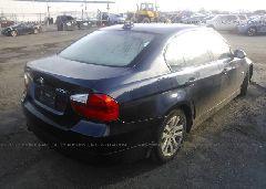 2006 BMW 325 - WBAVB13596KX46423 rear view