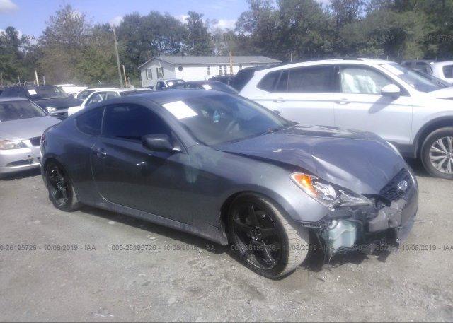 Inventory #887531065 2012 Hyundai GENESIS COUPE