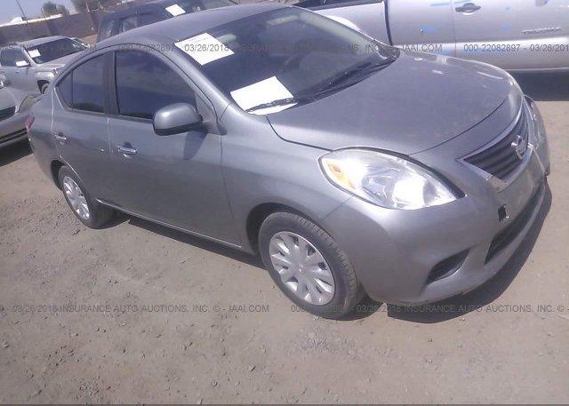 3n1cn7ap4dl888654 Salvage Gray Nissan Versa At Phoenix Az