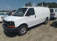 2014 Chevrolet EXPRESS G2500 - 1GCWGFBA3E1100657 Right View