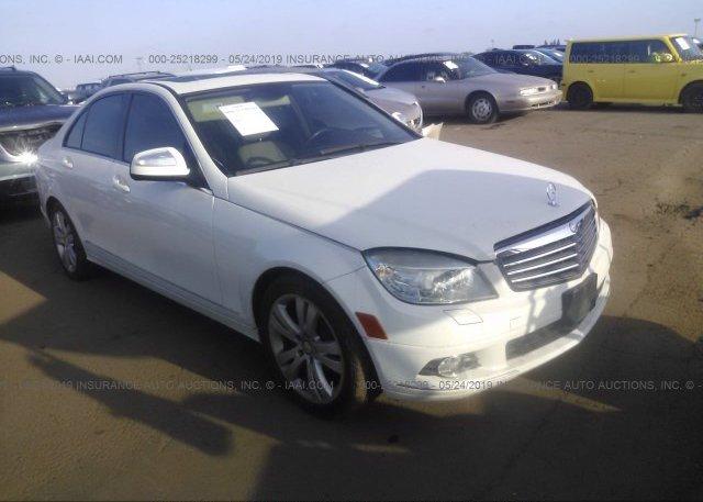 Inventory #988995932 2009 Mercedes-benz C