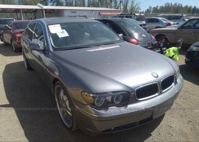 Inventory #199197589 2005 BMW 745