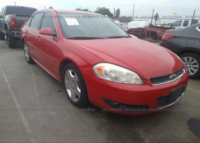Inventory #493796188 2009 Chevrolet IMPALA