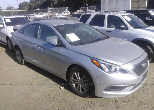 Inventory #107905037 2017 Hyundai SONATA