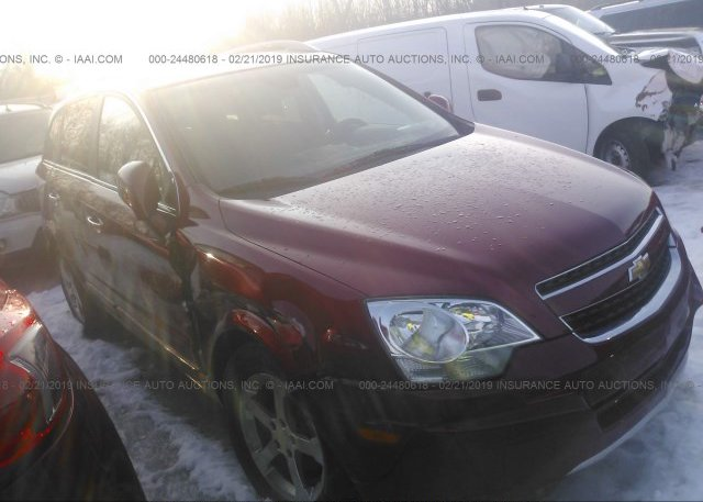 3GNAL2EK1DS627037, Salvage tan Chevrolet Captiva at PITTSTON, PA on