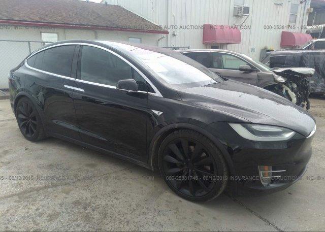Inventory #722155898 2016 Tesla MODEL X