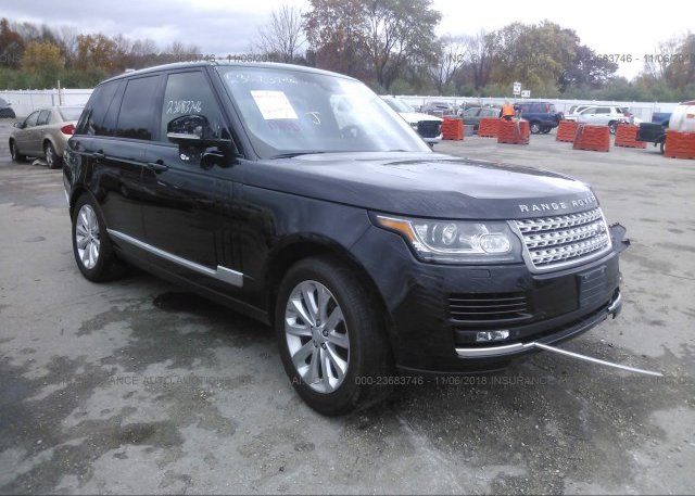 Inventory #811296596 2015 Land Rover RANGE ROVER