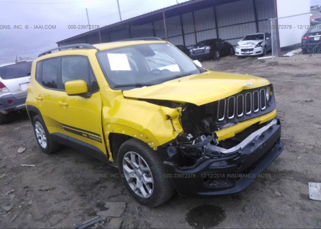 Inventory #770268164 2016 JEEP RENEGADE