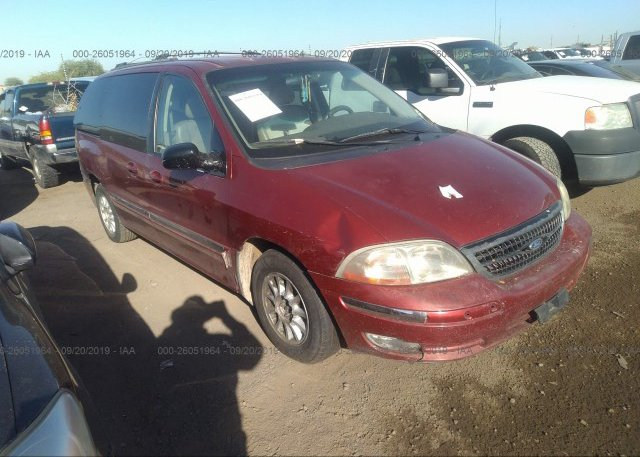 2fmda5245xbc11226 Clear Red Ford Windstar At Phoenix Az On