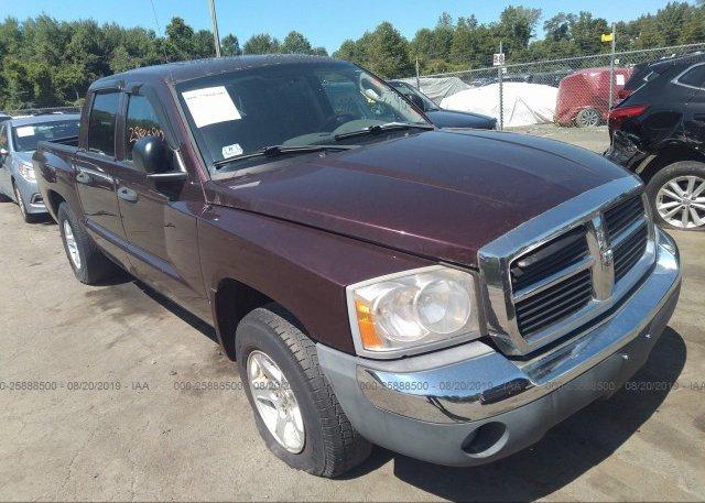 Inventory #670617166 2005 Dodge DAKOTA