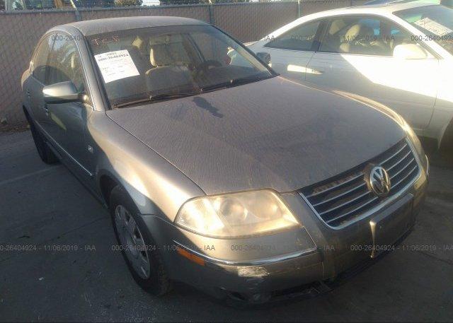 Inventory #203832139 2001 Volkswagen PASSAT