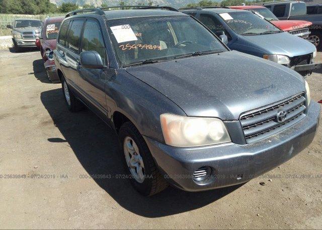 Inventory #647223148 2003 Toyota HIGHLANDER