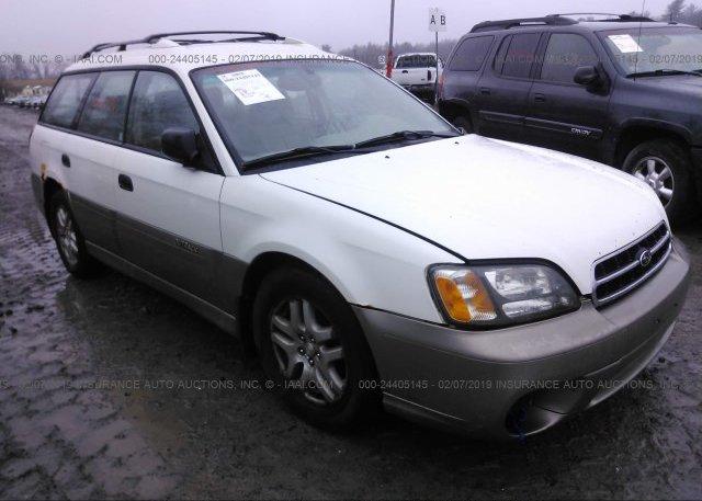 Inventory #849049969 2002 Subaru LEGACY