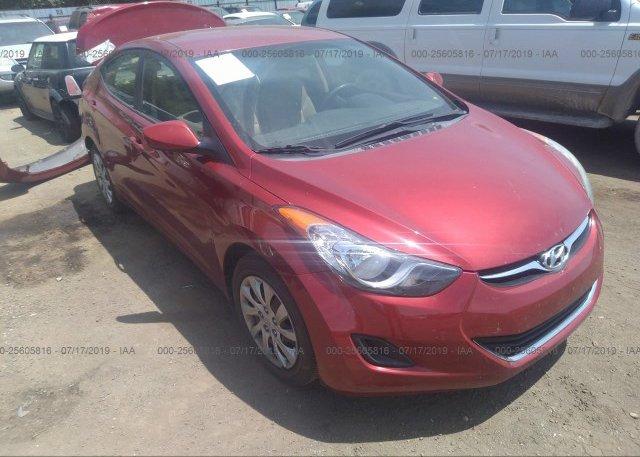 Inventory #342105167 2012 Hyundai ELANTRA