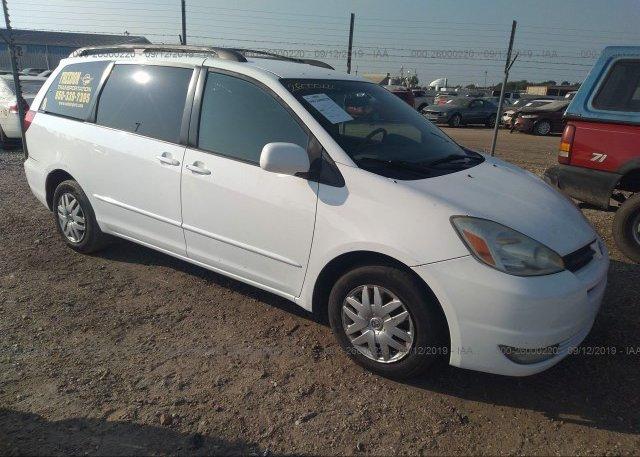Inventory #750917858 2004 Toyota SIENNA