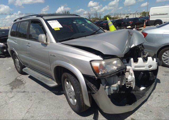 Inventory #906883693 2004 Toyota HIGHLANDER