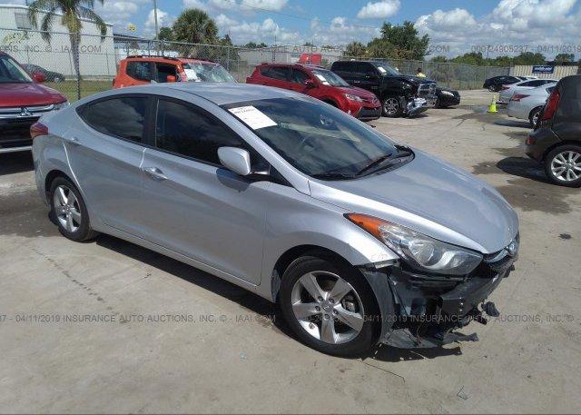 Inventory #111203526 2013 Hyundai ELANTRA