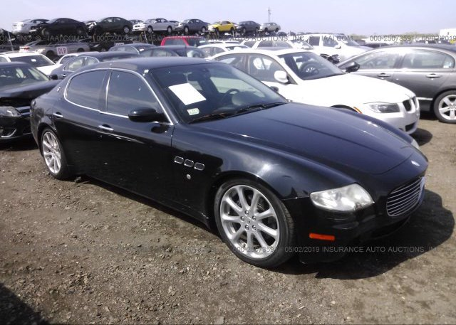 Zamce39a350017521 Salvage Black Maserati Quattroporte At Carteret