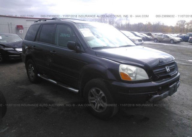 Inventory #725643963 2003 Honda PILOT