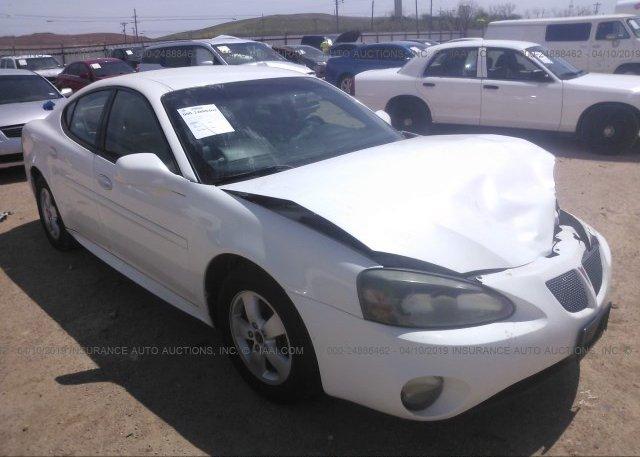 Inventory #873889268 2005 Pontiac GRAND PRIX