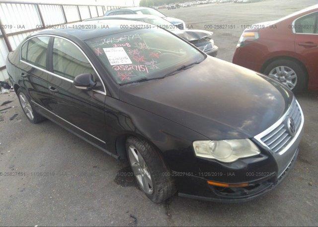 Inventory #576305218 2008 Volkswagen PASSAT