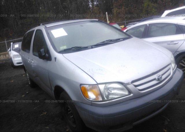 Inventory #229912342 2002 Toyota SIENNA