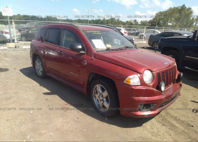 Inventory #750017242 2008 JEEP COMPASS