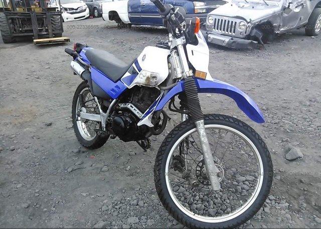 JYA4BEE057A085208, Salvage Certificate blue Yamaha Xt225 at KAILUA ...