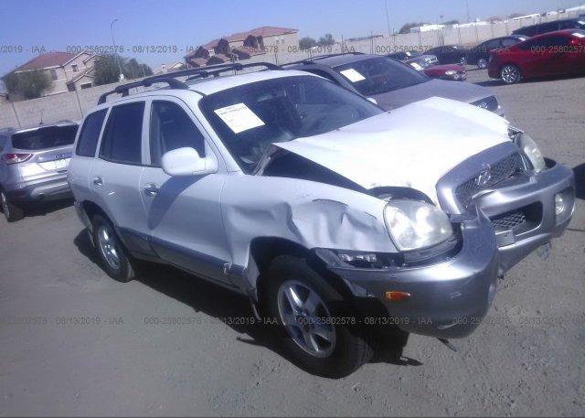 Inventory #112345864 2002 Hyundai SANTA FE