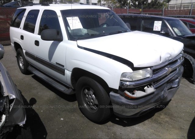 Inventory #166052288 2002 Chevrolet TAHOE