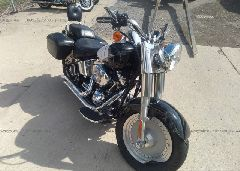 2006 Harley-davidson FLSTFI - 1HD1BXB106Y028581 Left View