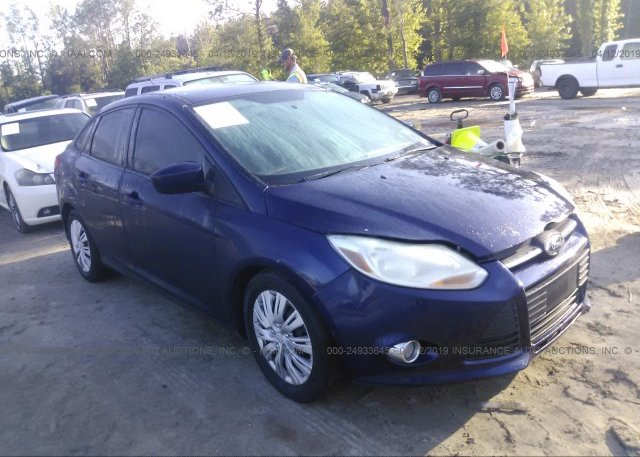 Inventory #678140722 2012 FORD FOCUS