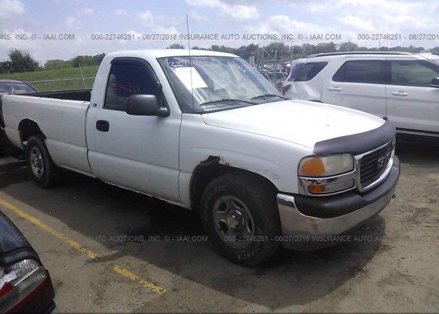 Inventory #236270254 2000 GMC NEW SIERRA